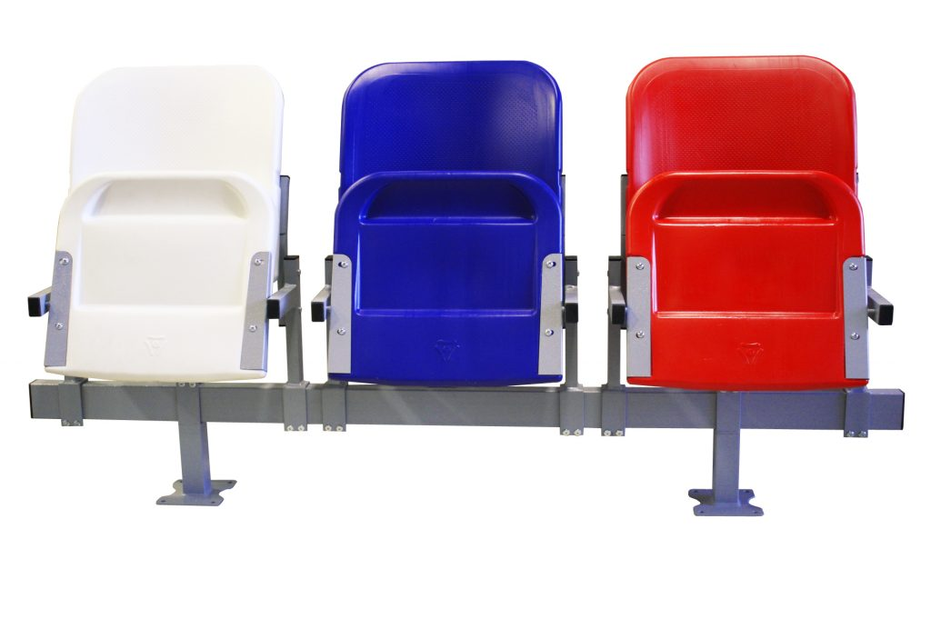 пластиковые кресла для стадиона