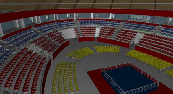 Арена трибуны 1