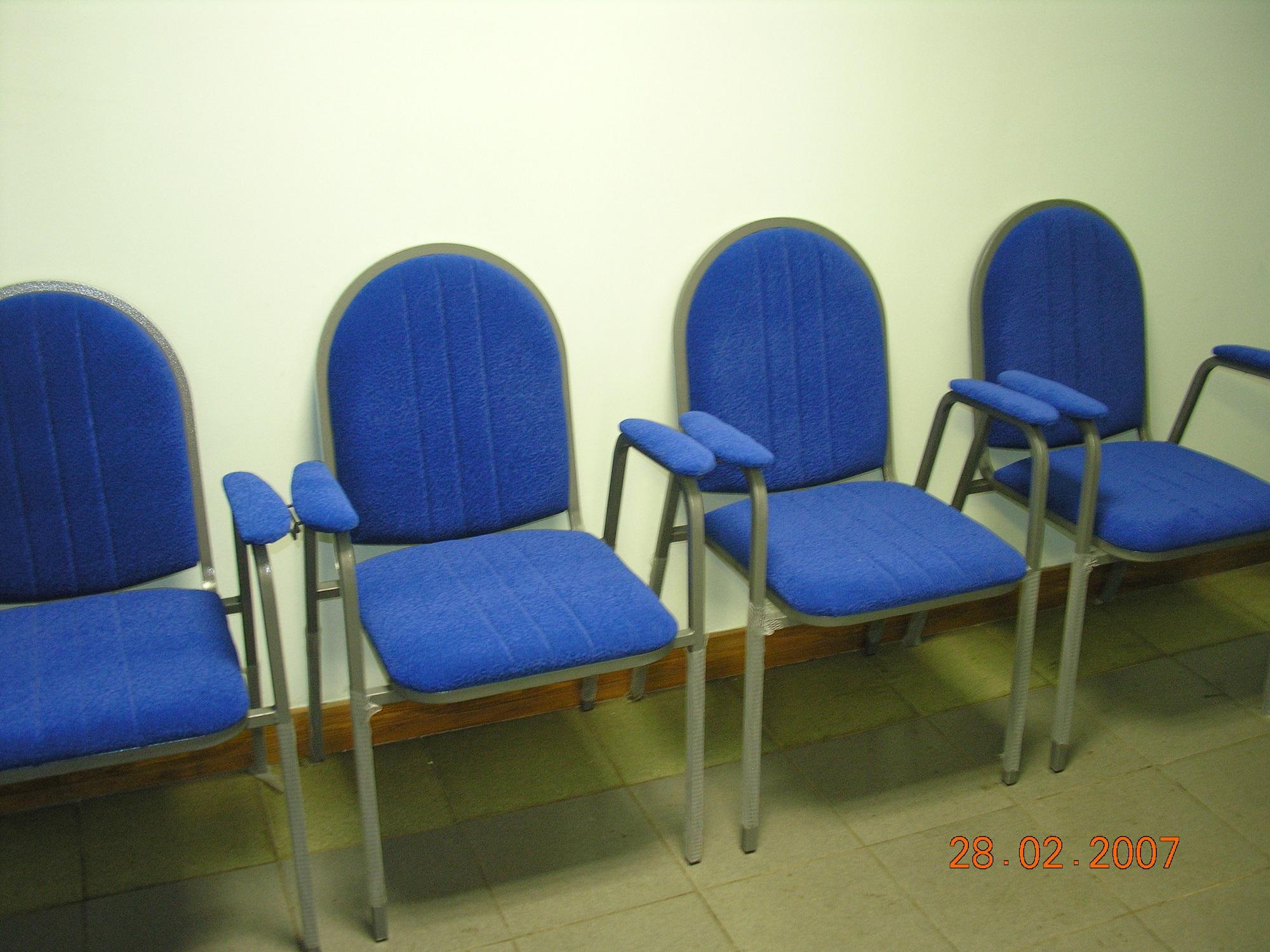 стул синий